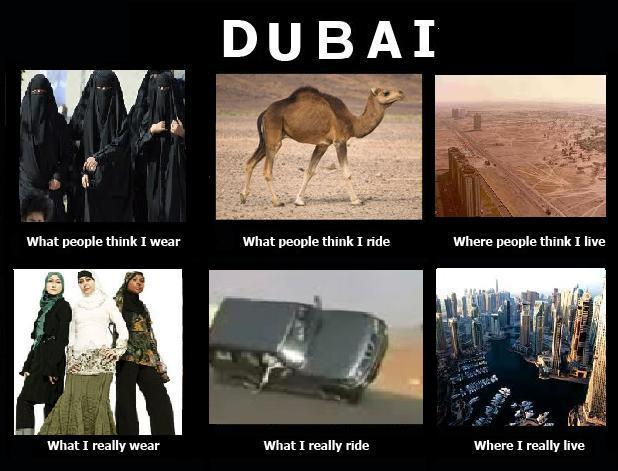 Dubai - What people think I am what I am