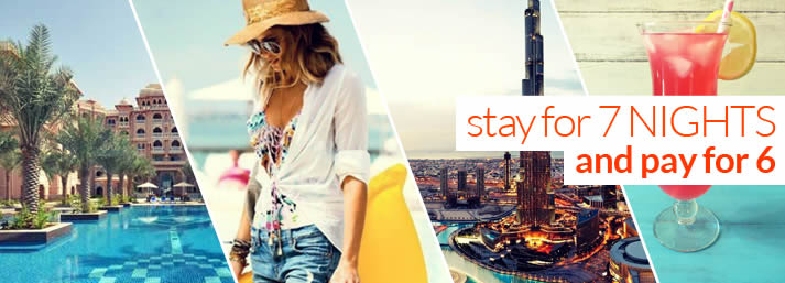 Self Catering Special Offers with My Dubai Stay