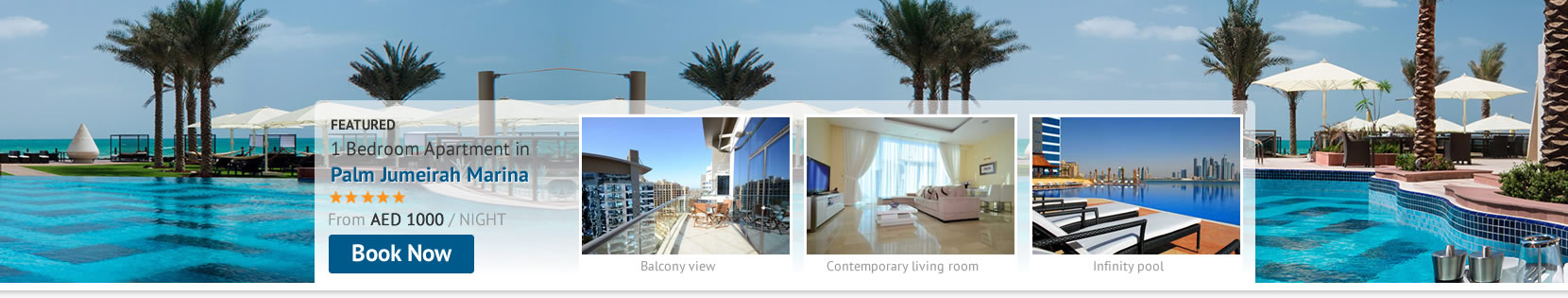 Book your stay at the Palm Jumeirah Marina and save when you stay Self-Catering