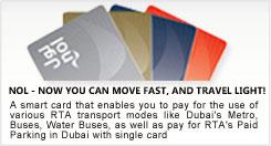 Dubai metro fares and ticket prices.